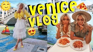 VENICE VLOG / GONDOLA RIDE, ST MARKS SQUARE & SO MUCH PASTA