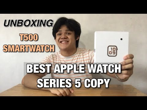 UNBOXING: T500 Smart Watch | Apple Watch Series 5 Copy