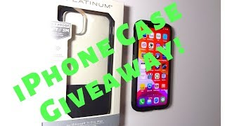 iPhone 11 Pro Max Case Review/Giveaway! Platinum