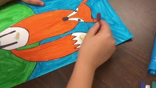 Drawing Foxes w/ Basic Shapes!