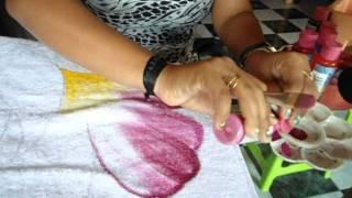 Pintura em toalha: forma rápida de pintar