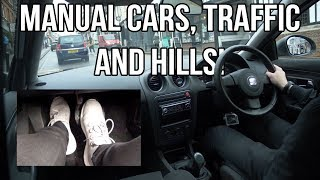 Clutch Control In Traffic And On A Hill - Tips And Tricks - How To Not Burn Out Your Clutch