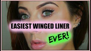 EASY AF WINGED LINER! [Laura's Views]