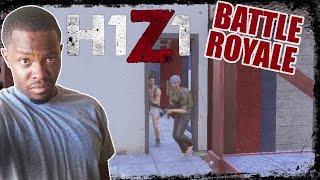 H1Z1 Hardcore Battle Royale Gameplay - PATTY TRIES HIS FIRST HONEY BUN! | H1Z1 Hardcore Mode