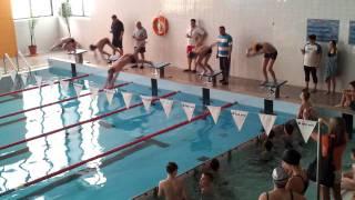 preview picture of video 'Finał Igrzysk Grupy Zachodniej w pływaniu Kolno 2012.02.12  część 1/2'