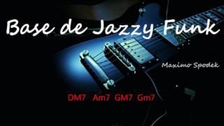 BASE DE JAZZY FUNK EN DM PARA IMPROVISAR EN GUITARRA, SAXO, PIANO, PERCUSION, ETC
