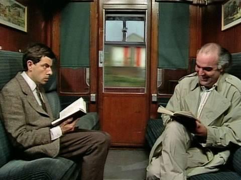 Classic Comedy: Mr. Bean Takes the Train