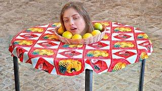 Ilusão da cabeça cortada - aprenda a fazer! - Video Youtube
