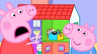 Peppa Pig English Episodes | Playing Pretend Bicycle Race