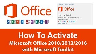 How To Download Setup & Active Microsoft Office 2016 At Cheap | Genuine Key