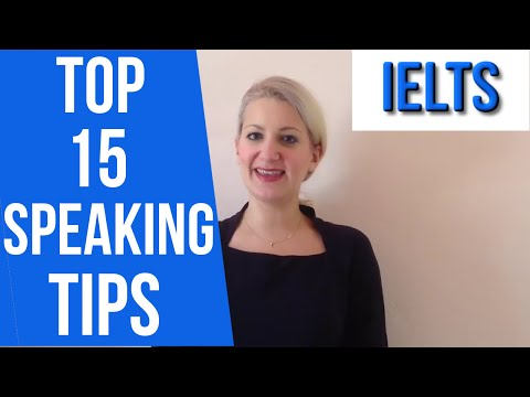 IELTS TOP 15 Speaking TIPS and a personal story! :)