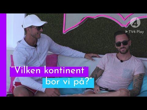 Deltagarna testar sina geografikunskaper I Love Island Sverige 2019