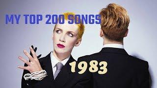 My top 200 of 1983 songs