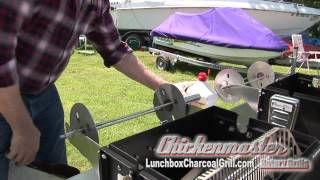 Easy Setup of the Lunchbox Charcoal Grill