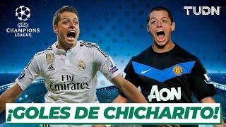¡Feliz cumpleaños, Chicharito! | Los goles de Javier Hernández en la Champions League I TUDN
