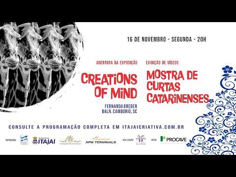 Mostra de Curtas Metragens Catarinenses + Abertura de Exposição = Ocupação Itajaí Criativa 2020