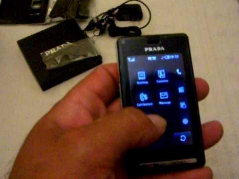 LG Prada KE850 Prada GSM Unlocked Tri Band By SuperRey's Exotics