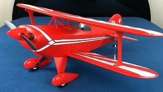 E-flite Pitts S-1S 850mm BNF Basic RC Biplane Unboxing & Review