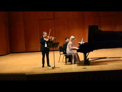Cesar Franck Sonata for Violin and Piano in A major, 2 mvt