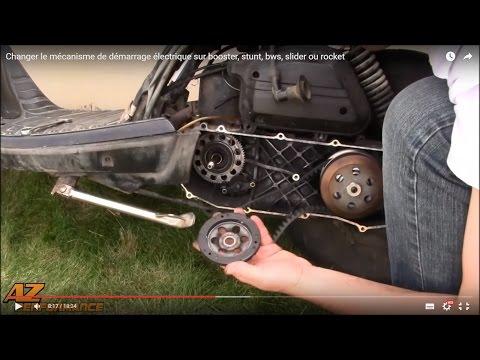 Changer le mécanisme de démarrage électrique de son Booster / Stunt / Rocket / ...