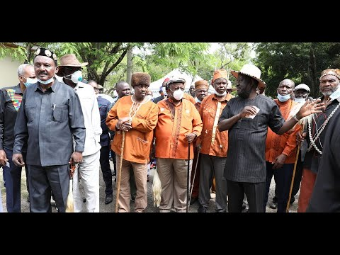 Inside Raila's meeting with Kikuyu elders
