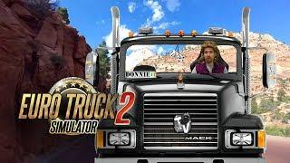 Euro Truck Simulator 2 mit Donnie