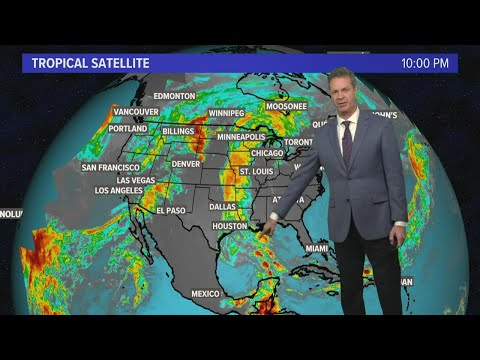 Eyes on the Gulf: Storm has 20% chance of developing into tropical system