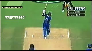 200 in 24 overs - Jayasuriya 111 with 17 4s & five 6s |  destroys New Zealand bowling