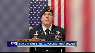Flags at half-staff Tuesday to honor fallen soldier Jonathan Farmer