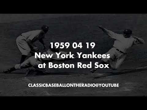 1959 04 19 New York Yankees at Boston Red Sox