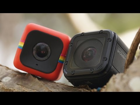 Polaroid Cube vs GoPro Hero4 Session - Visual Comparison | DansTube.TV