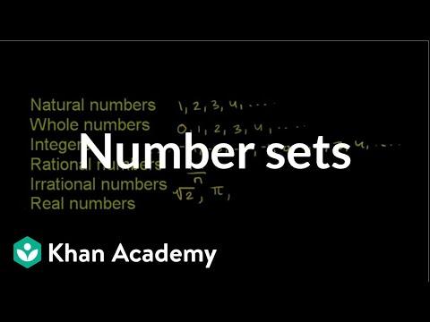 Number sets | Fractions | Pre-Algebra | Khan Academy - YouTube