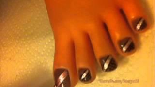 Diseño de uñas de los pies