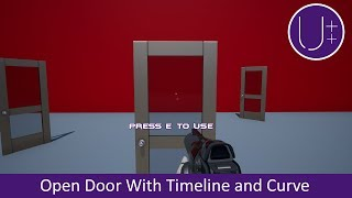Unreal Engine 4 C++ Tutorial: Open Door With Timeline and Float Curve