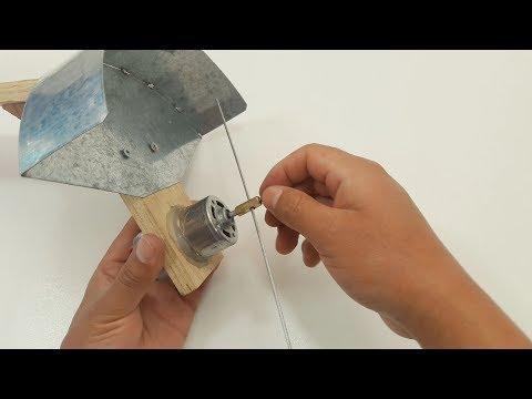 Cómo Hacer Cortador de Césped Casero (Muy fácil de hacer)