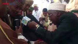 Ali Kiba at his Swahili wedding