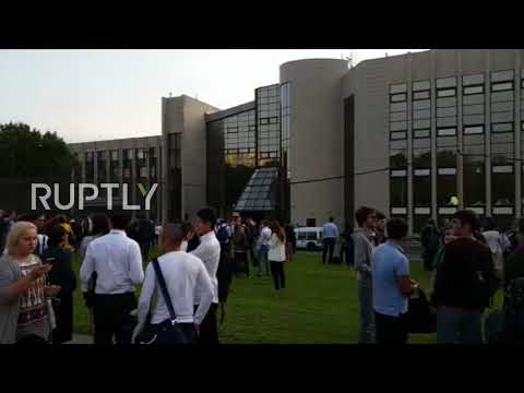 Russia: Students evacuated from Moscow campus after bomb threats across city