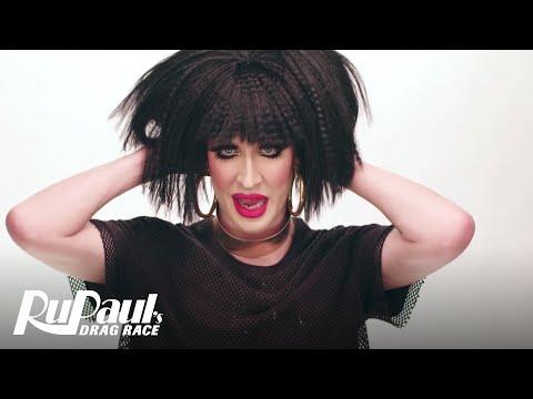 RuPaul's Drag Race | RuVealing Detox's '80's Business Woman' Makeup Tutorial | Logo