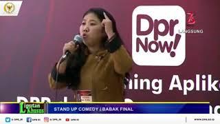 Kiki Juara 3 Grand Final Stand Up Comedy Kritik DPR 2018