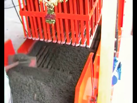Concrete Block Machine Jumbo 860 G