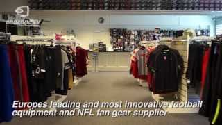 American Football Equipment In Europe & NFL Clothing