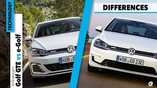 Volkswagen GTE vs VW e-Golf - HOW IT'S MADE + Car Review and Differences [GOMMEBLOG]