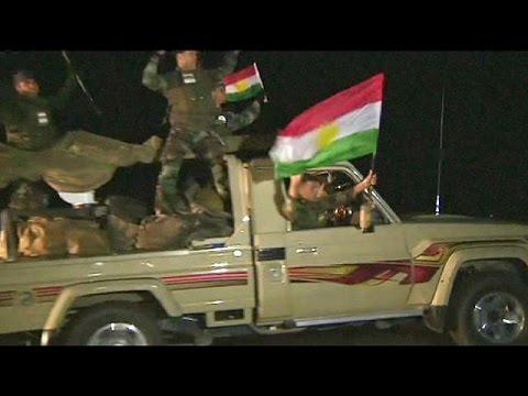 Syrie : les renforts kurdes d'Irak arrivent à Kobané