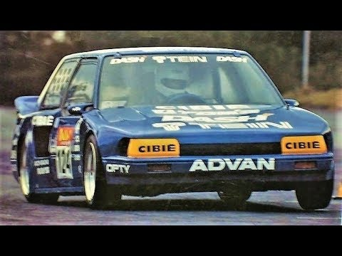 Tom´s S1D Toyota AE82 - Rare Footage!! || 260Hp/9.500RPM Gymkhana Monster