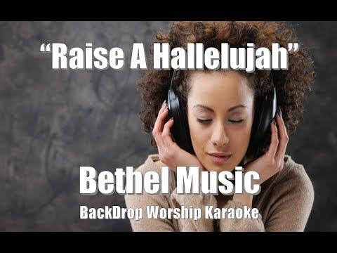 "Bethel Music ""Raise A Hallelujah"" BackDrop Christian Karaoke"