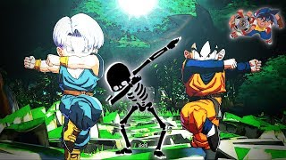 Dragon Ball Fighterz Online Matches: Good Close Calls 7 - Gotenks Is A Beyblade