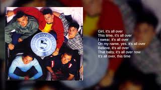 Five: 11. It's All Over (Lyrics)