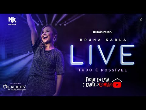 Em tempo de confinamento, Bruna Karla realiza live intitulada