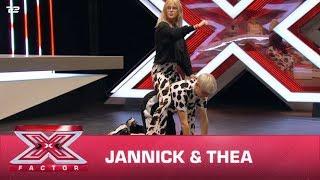 Jannick & Thea synger 'Mooo!' - Doja Cat (Audition) | X Factor 2020 | TV 2