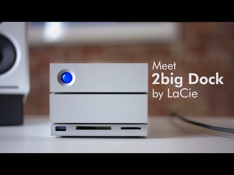 LaCie 2big Dock Thunderbolt 3 - Video